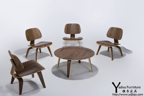产品标题:【实木茶几】eames咖啡桌 eames molded plywood coffee tab