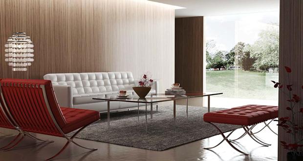别墅装修设计客厅家具配套方案推荐