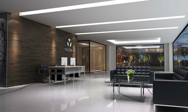 雅帝家具公司前臺和接待區設計效果圖